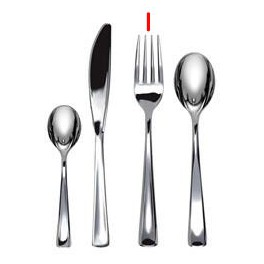 Forchette plastica Linea Fancy