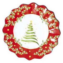 Piattini usa e getta Christmas Tree