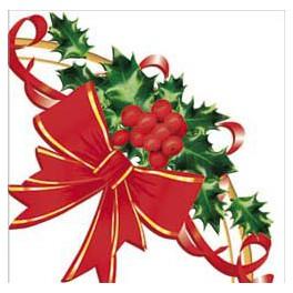 Tovaglioli Fiocco Natale