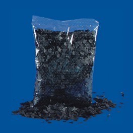 Coriandoli neri - 200 grammi