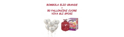 Kit Gas Elio + palloncini