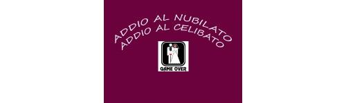 ADDIO AL NUBILATO/CELIBATO
