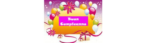 20°/30°/40°/50°/60° Compleanno
